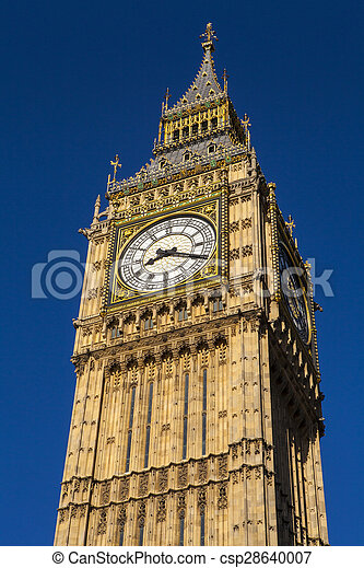 Big Ben en Londres - csp28640007