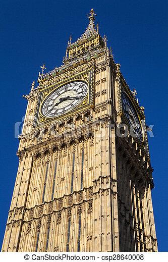 Big Ben en Londres - csp28640008