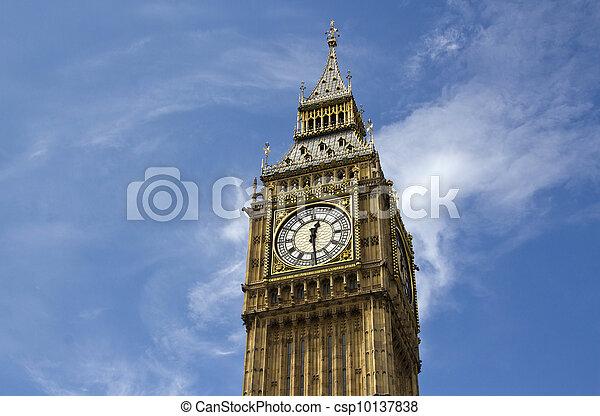 Big Ben en Londres - csp10137838