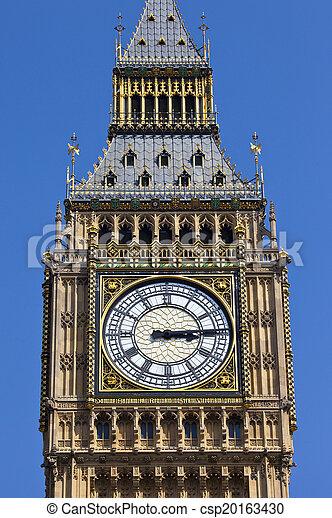 Big Ben en Londres - csp20163430
