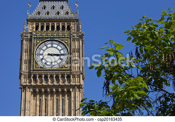 Big Ben en Londres - csp20163435