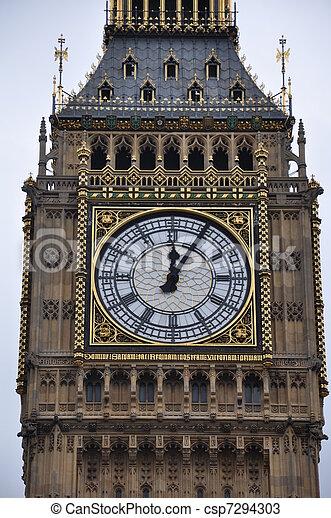 Big Ben en Londres - csp7294303