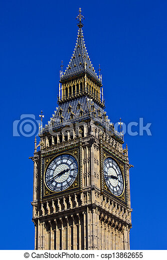 Big Ben en Londres - csp13862655