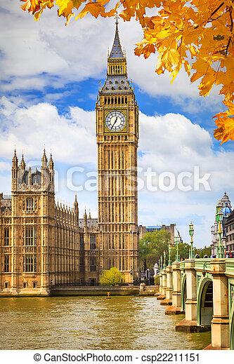 Big Ben en Londres - csp22211151
