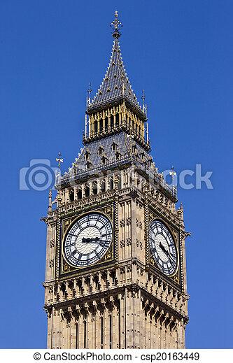 Big Ben en Londres - csp20163449