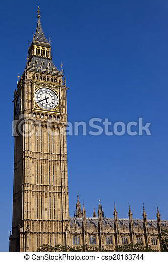 Big Ben en Londres - csp20163744
