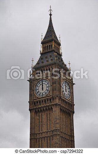 Big Ben en Londres - csp7294322