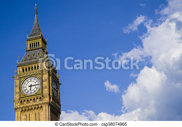 Big Ben en Londres - csp38074965