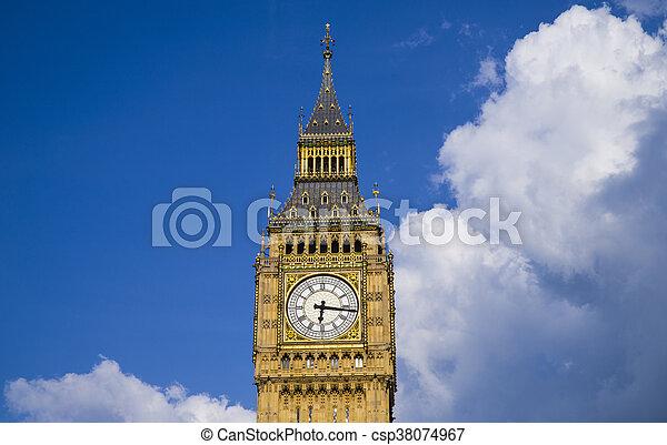 Big Ben en Londres - csp38074967