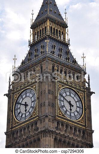 Big Ben en Londres - csp7294306