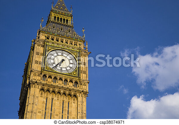 Big Ben en Londres - csp38074971