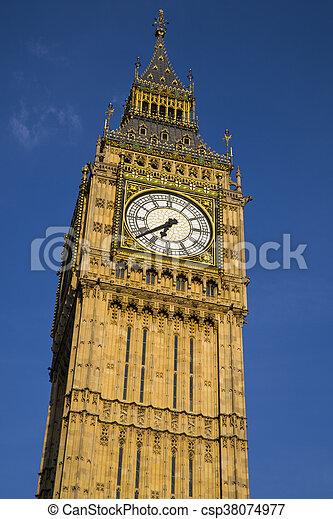 Big Ben en Londres - csp38074977