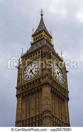Big Ben en Londres - csp26578381