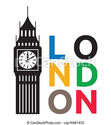Big Ben Londres - csp16481433