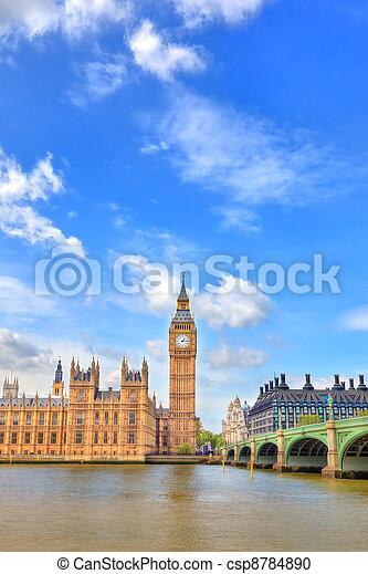 big ben, vereinigtes königreich, london - csp8784890