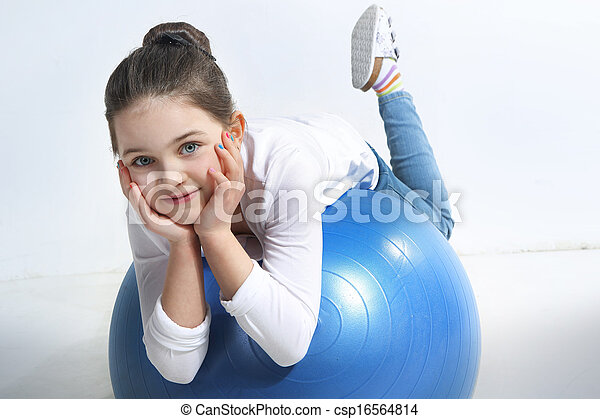 big blue ball - csp16564814