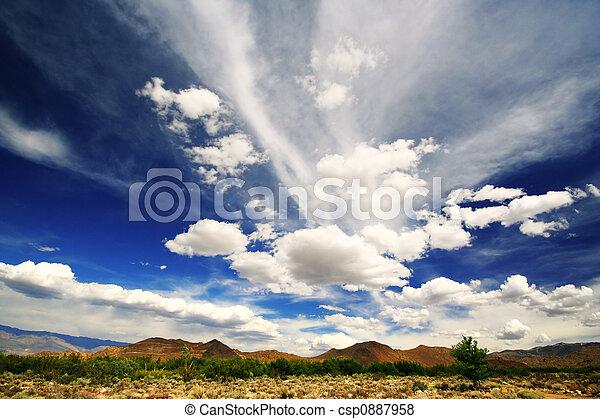 Big Blue Sky - csp0887958