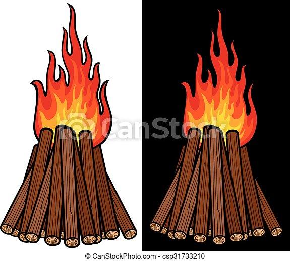 big bonfire - csp31733210