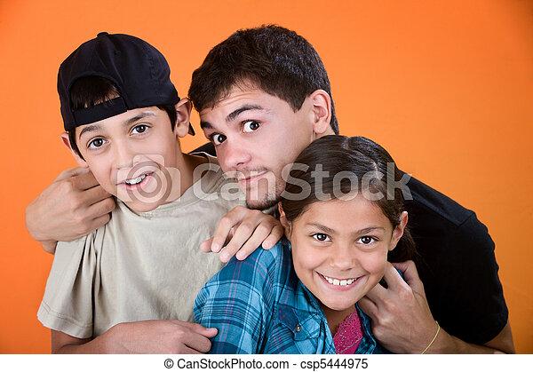 Big Brother and Siblings - csp5444975