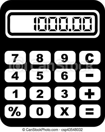 Big Calculator - csp43548032