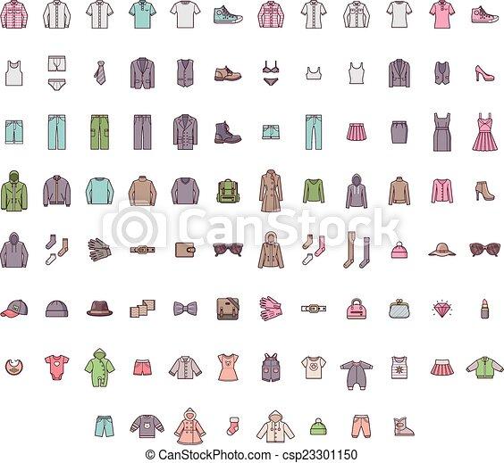 Big clothes set - csp23301150