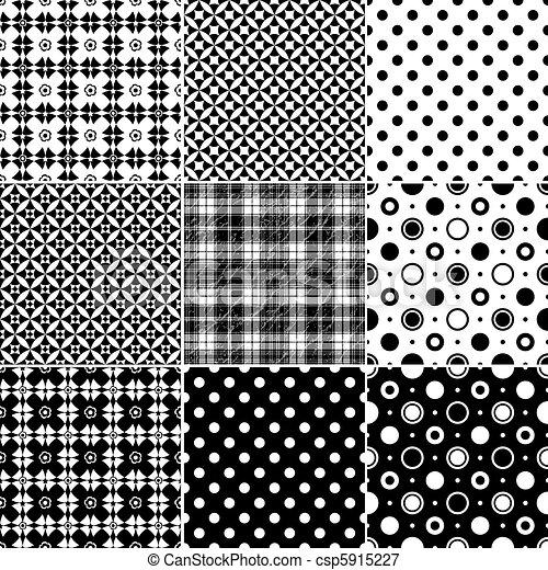 Big collection seamless patterns - csp5915227