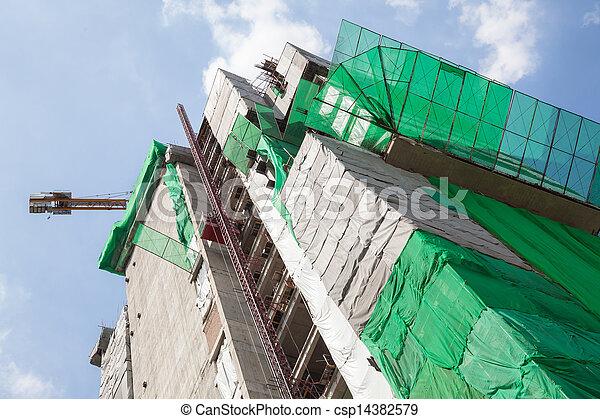 Big Construction Site - csp14382579