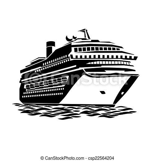 big cruise liner - csp22564204