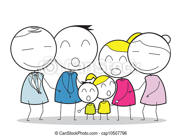 big family eps vectors search clip art illustration drawings and rh canstockphoto com big family tree clipart big family clipart free