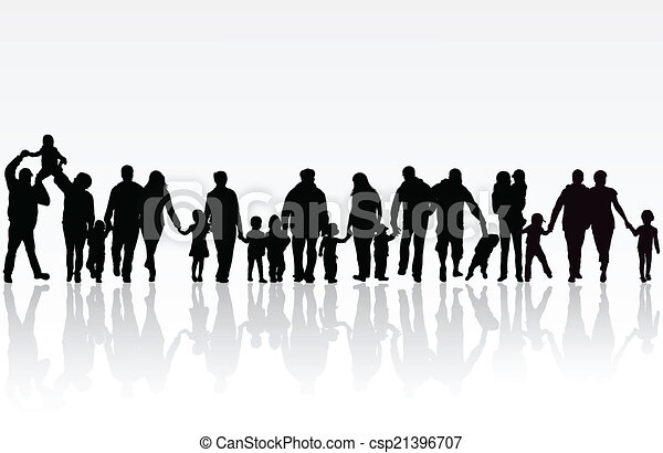 big family rh canstockphoto com big indian family clipart big family clipart black and white