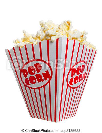Big Fat Box of Popcorn - csp2185628