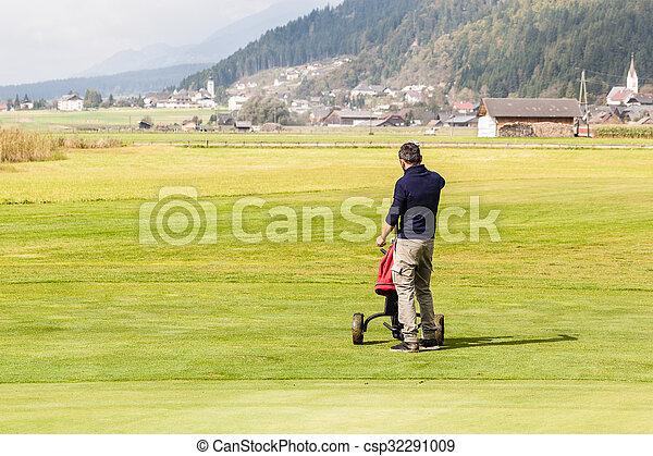 Big golf course - csp32291009