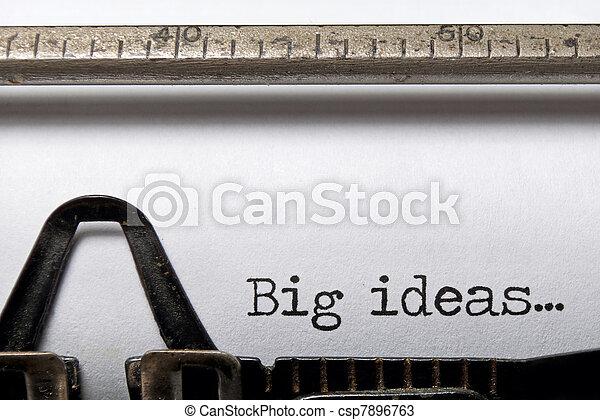 Big ideas - csp7896763