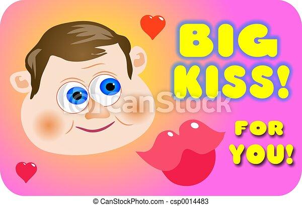 Big Kiss - csp0014483
