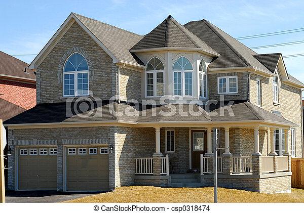 Big luxury house - csp0318474