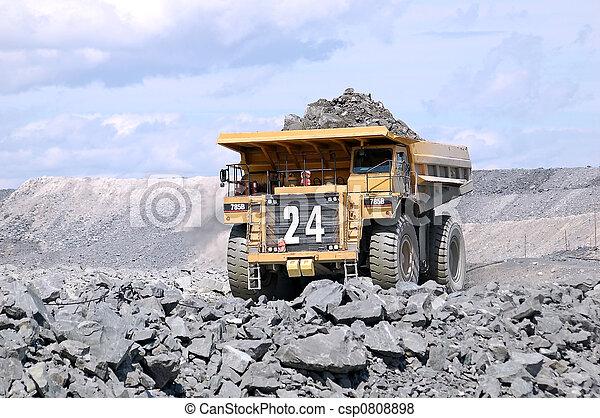 Big Mining Truck - csp0808898
