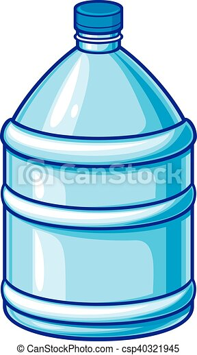 big plastic bottle of water vector illustration eps vector search rh canstockphoto com drinking bottled water clipart