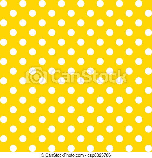 Big Polka dots, Seamless Pattern - csp8325786