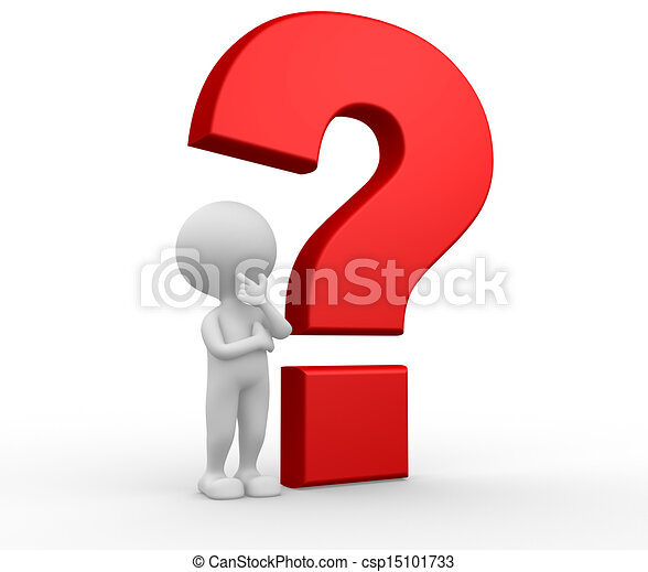 Big question mark  - csp15101733