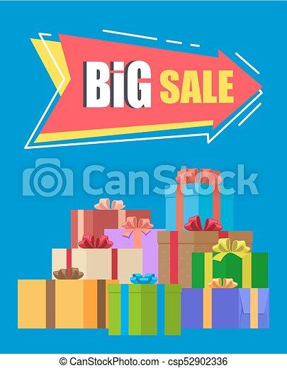 Big Sale Advertisement Vector Illustration - csp52902336