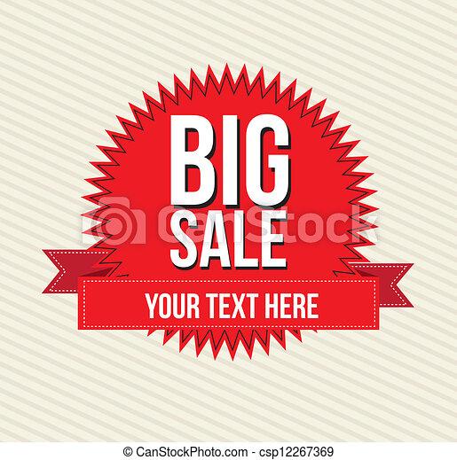 Big sale  - csp12267369