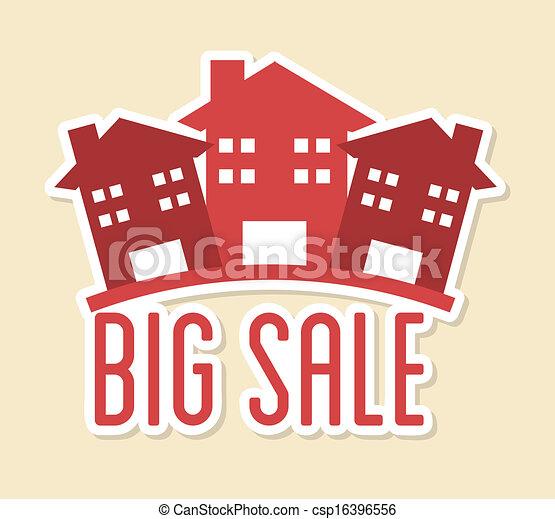 big sale design - csp16396556