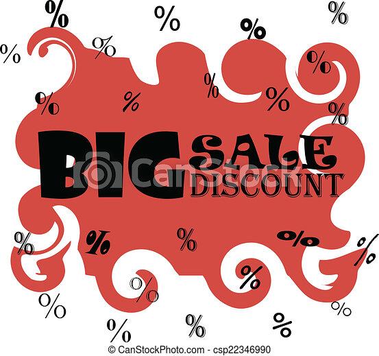 Big sale discount - csp22346990