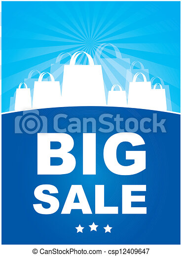 BIg sale - csp12409647