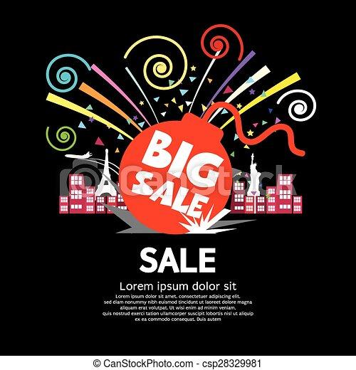 Big Sale. - csp28329981