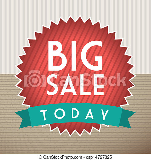 Big sale  - csp14727325