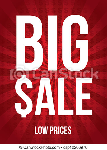 Big sale - csp12266978