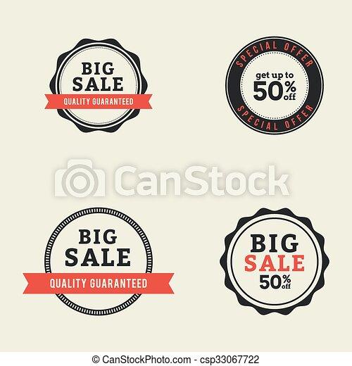 Big Sale Labels - csp33067722