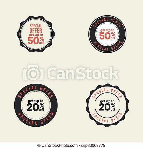 Big Sale Labels - csp33067779