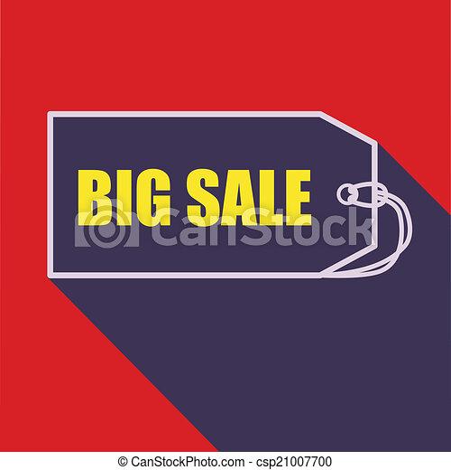 Big sale tag - csp21007700